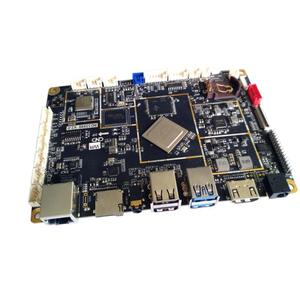 All in one RK3399 bordo di sviluppo di Android MIPI eDP lvds con Ethernet, wifi, GPIO, 4G sim, GPS