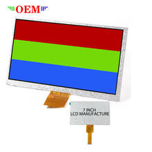 "7"" CTP hd high resolutions 1024x600 7 inch tft lcd screen display module with touch screen panel for vending machine"