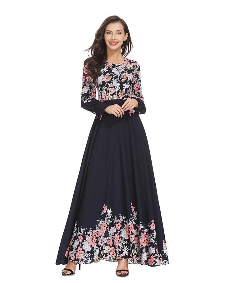 2019 Online Shopping India Islamic Clothing Abaya