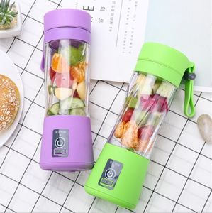 All fruits automatic cheap juicer blender usb portable juicer plastic bottle