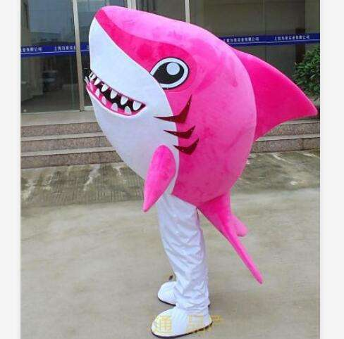 human size funny ocean animal shark mascot costume for event show sea world amusement park