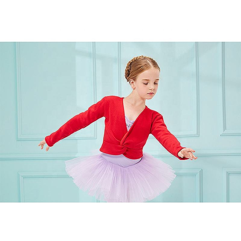 Factory Wholesale Sweaters Cardigans Dance Ballet Warm Up Tops