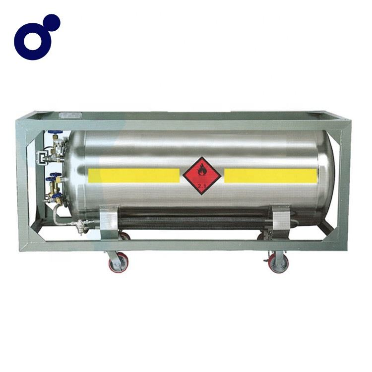 Industrial Cryogenic Liquid LNG Fuel Petroleum Gas Dewar Tank cylinder