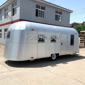 High Quality China RV Motorhome / Camper trailer / travel caravans factory direct sale