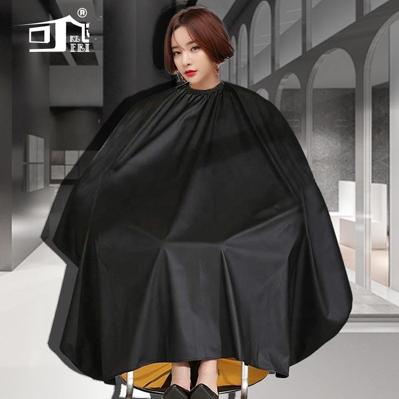 Professional hair cutting customized beauty waterproof polyester barber hairdressing salon cape aprons