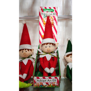 Factory production customization The Elf on the Shelf Christmas Doll can customize any color Elf bookcase