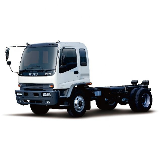 Equipped with Isuzu 4H engine, the chassis series of QinglingFTR medium and heavy truck can meet various refitting requirements