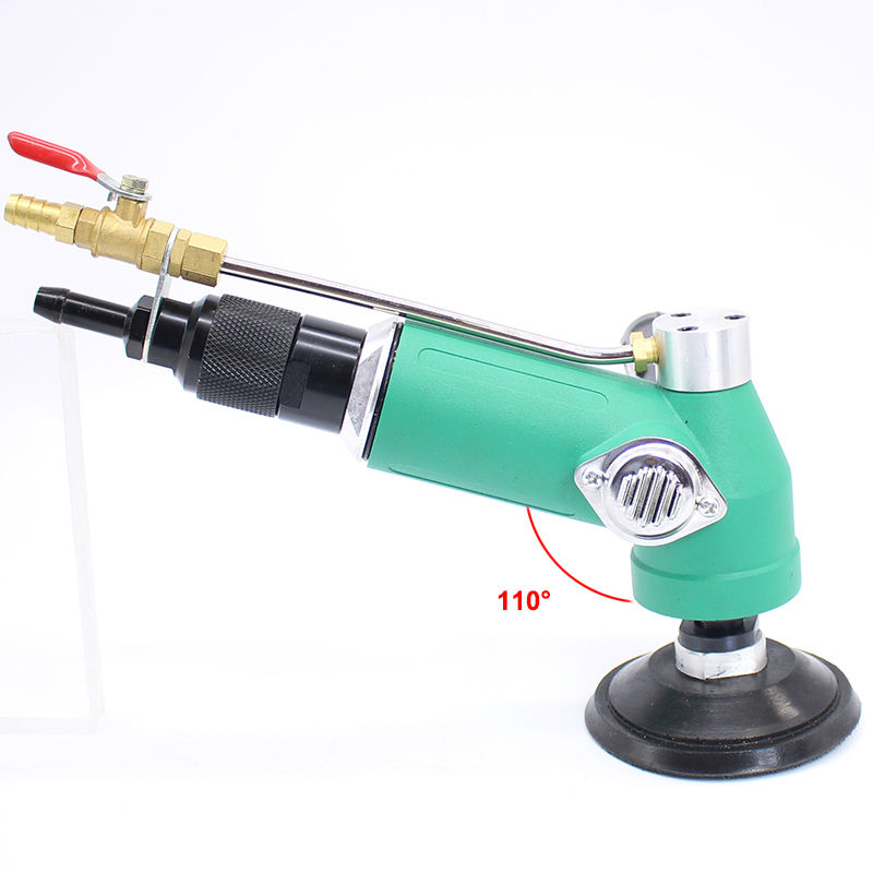 Air Wet Grinder 7 CFM @ 90PSI handy and durable green housing Heavy duty applications and production