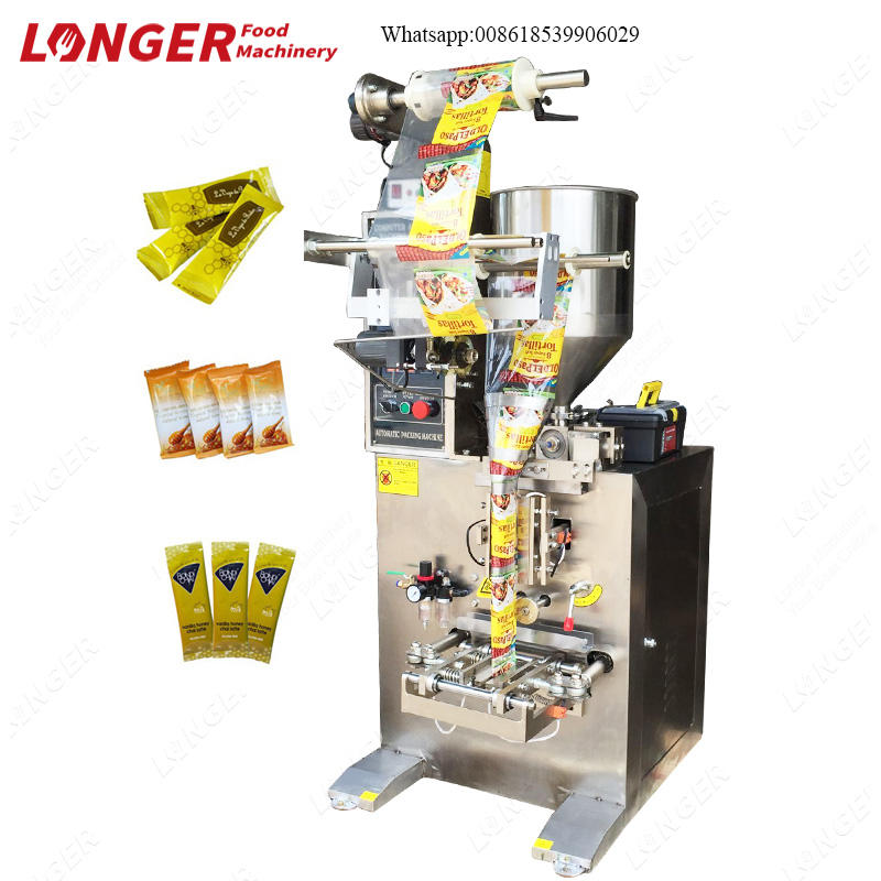 Peanut Butter Filling and Sealing Machine|Automatic Seasoning Liquid Packing Machine
