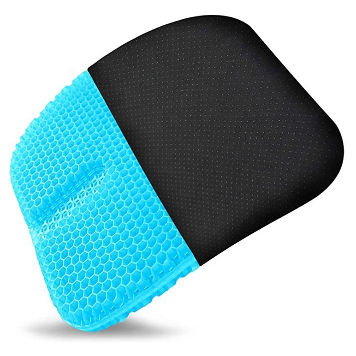 cooling 3D Honeycomb Sitting Gel cushions non-slip soft comfortable TPE gel seat cushion