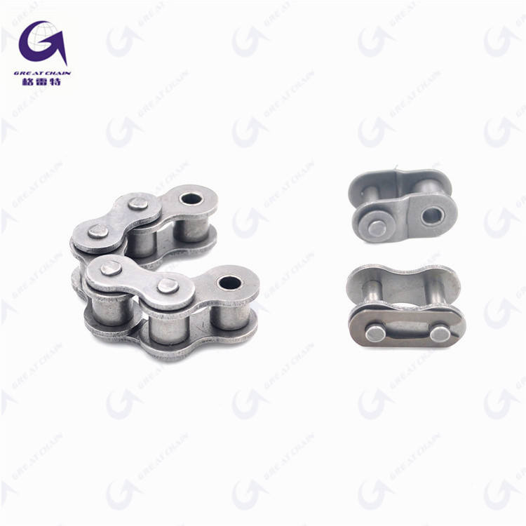 10A-1 Hot Selling and Best quality Carbon Steel Roller Chian and nickel plating (factory direct sale)