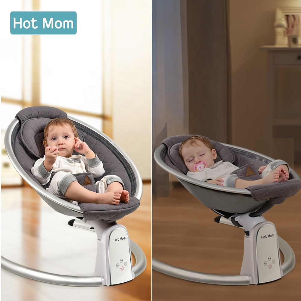 Hot Mom Baby Bouncer Baby Rocker Infant Bouncer Baby Swing Appease Recliner Cradle Bed with Remote Control