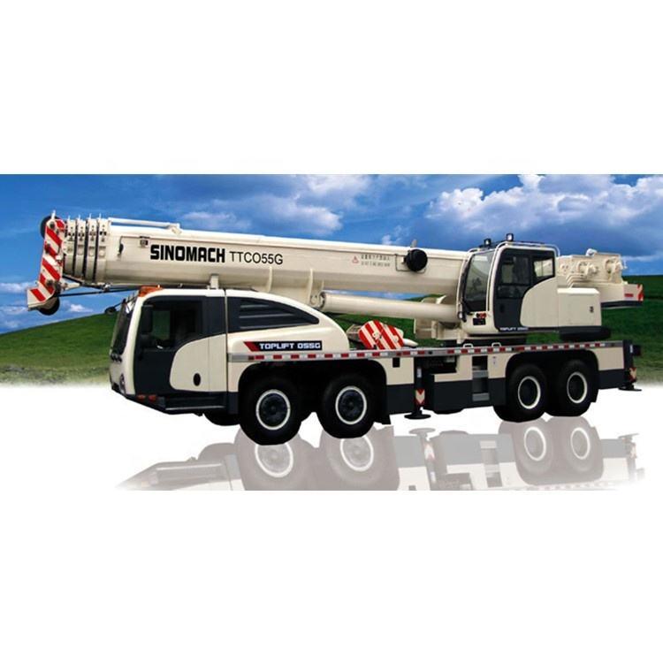 Sinomach China Hoisting Crane Machinery 55 Ton Truck Crane TTC055G