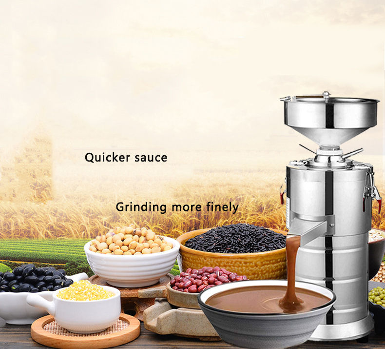 Horus HR-100Y sauce making machine peanut butter grinder machine other food processing machinery