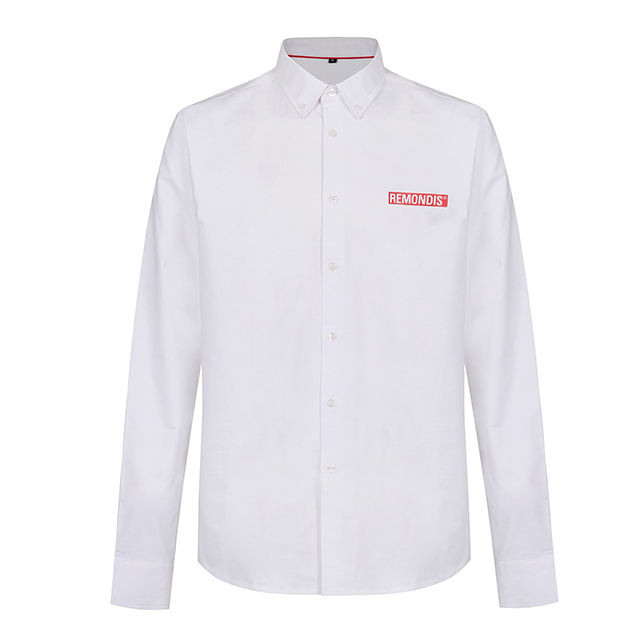 men's shirts OEM Custom Polyester 100% Cotton printing eco-friendly Casual dress men shirt