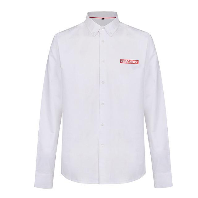 men's shirts OEM Custom Polyester 100% Cotton printing eco-friendly Casual dress men shirt