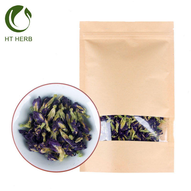 Purple flower butterfly pea tea dried butterfly Pea flower blue butterfly pea tea