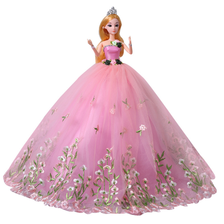 barbie princess doll oversized 60 cm girl birthday gift set