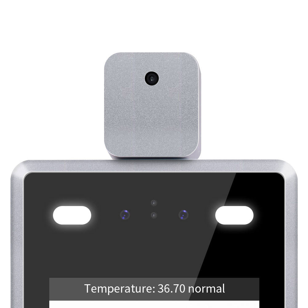 Non-contact CE FCC 7 Inch Automatic Thermal Scanner Camera Human Infrared Dynamic Face Recognition Door Access Control System