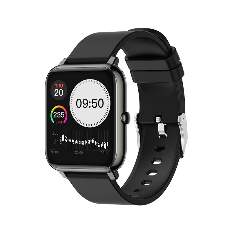 Waterbestendig Touch Mannen Pols Hartslagmeter Smartwatch Fitness Sport Outdoor Lady Fashion Telefoongesprek Smart Horloge