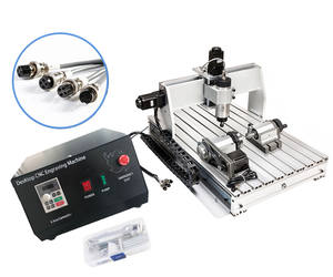 6040 4 axis 2.2KW Spindle Mini desktop cnc wood router CNC Engraving and Cutting machine