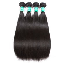 Slaying Hair Cheap Straight Peruvian Virgin Cutile Aligned Human Hair Extension Tangle Free