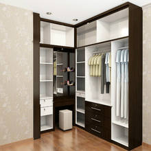 Bedroom Furniture Set Customized Walk in Closet Modern Wardrobes