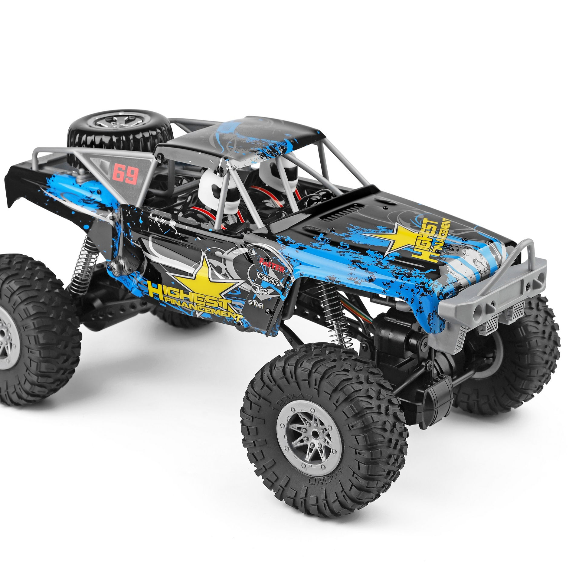 WL Toys 104310 2.4 G 1:10 RC 4WD Electric Rock Crawler