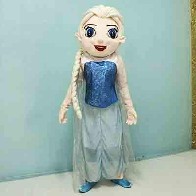 Frozen Anna /& Elsa Mascot Costumes