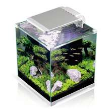 Aquarium Fish Tank Desktop Fish Tank Aquarium Goldfish Tank With LED Lighting and Filtering System