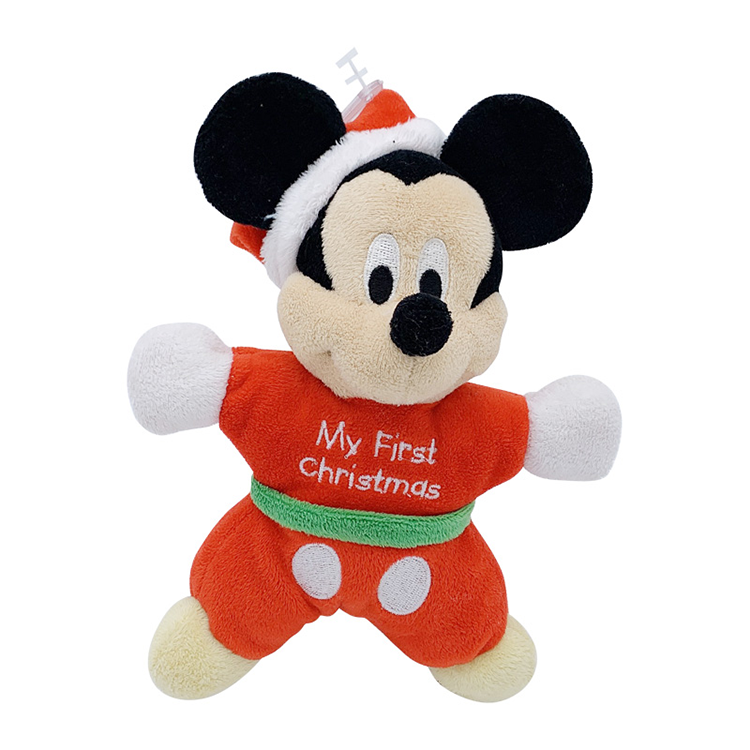 Hot Sale Cute Mickey Minnie Mouse Plush Toys for Children Stuffed Cartoon Figure Donald Goofy Doll Kids Baby Classic Gift