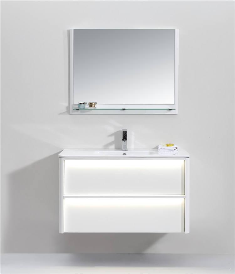 Combo De Inodoro Cuenca blanco de estilo contemporáneo combinado con fregadero para baños pequeños