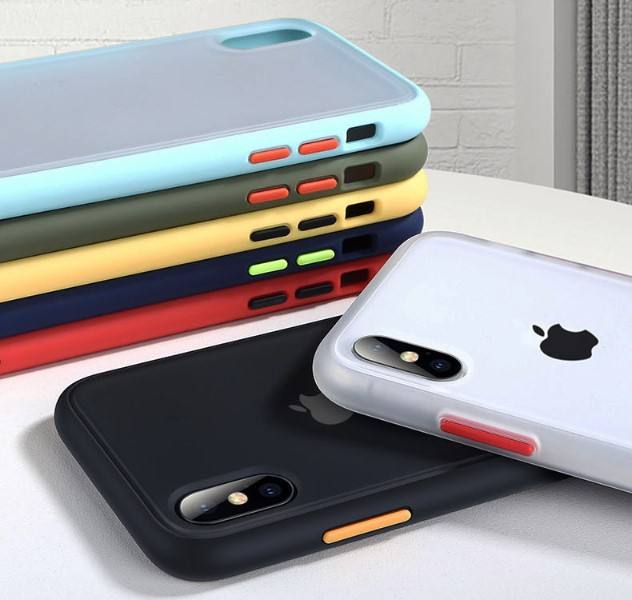 2019 New Shockproof Case For iPhone X XR XS Max Silicone Translucent Matte phone cover For iPhone 11 pro max 7 8 Plus case se 2