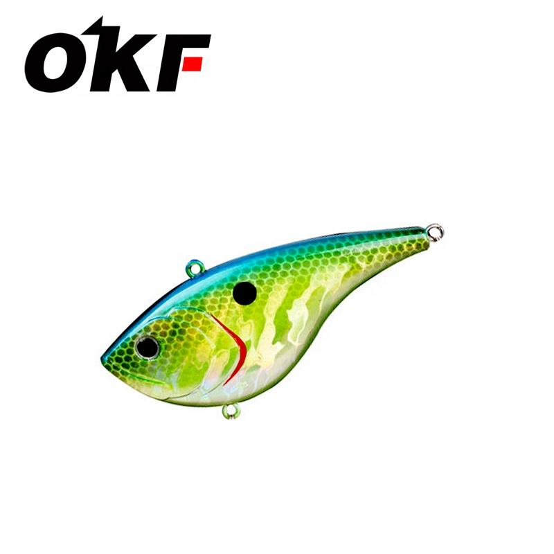 DIY fishing lures 20g 78mm VIB lure hard bait vibration baits lipless crankbait long casting sea water lure V080