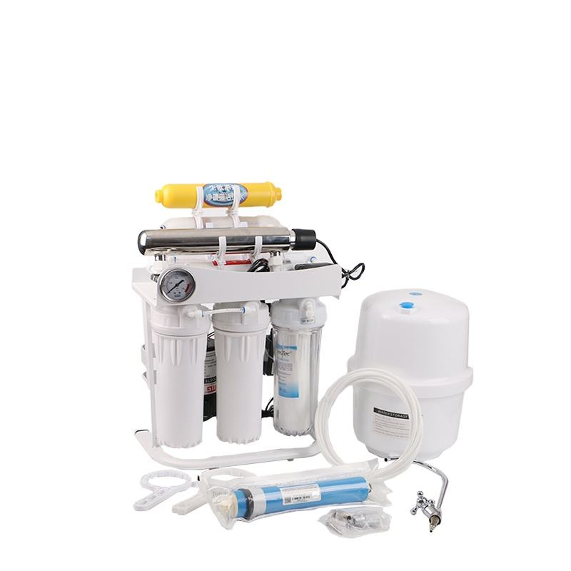 Best quality 7 stages home use Reverse Osmosis system water filter water purification with stand with 3.2G tank