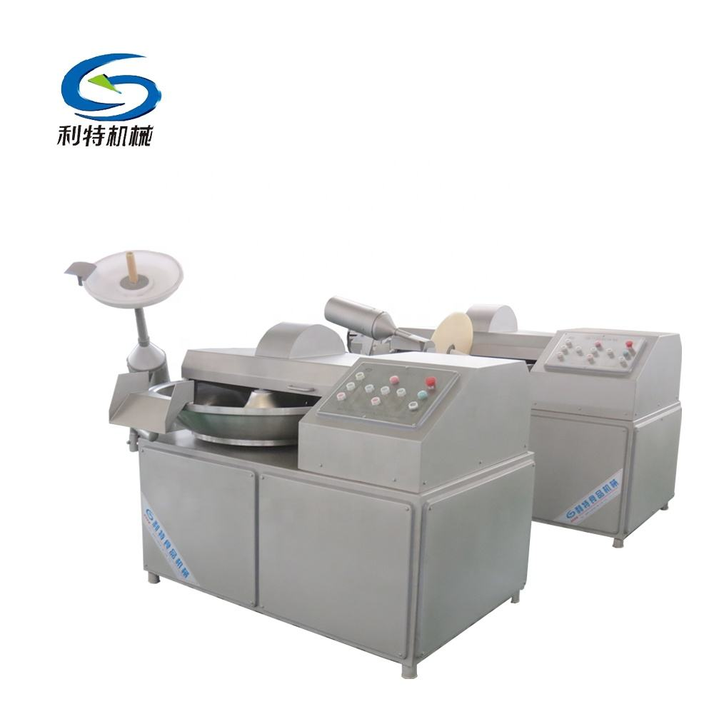 Stainless steel high speed zb 125 bowl cutter/meat chopper