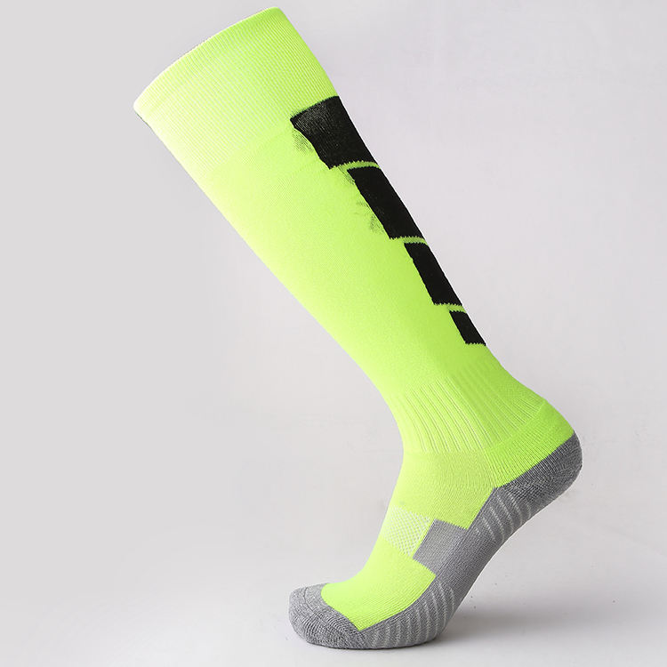 china sock manufacturers custom Logo pattern Brand adult kids football socks oem Long compression socks