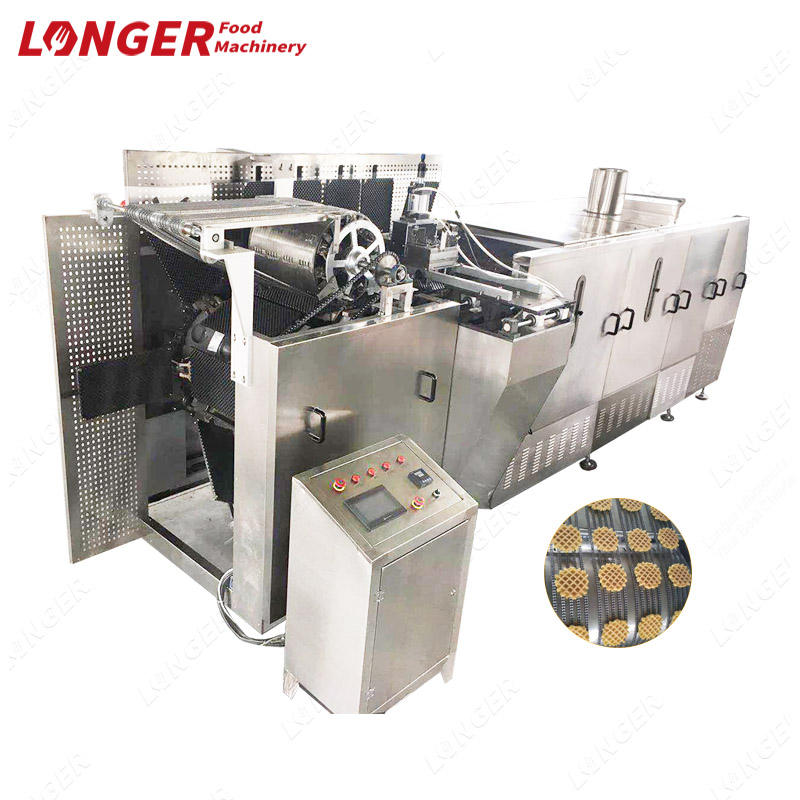 Large Model Soft Waffle Production Line Automatic Soft Waffle Machine