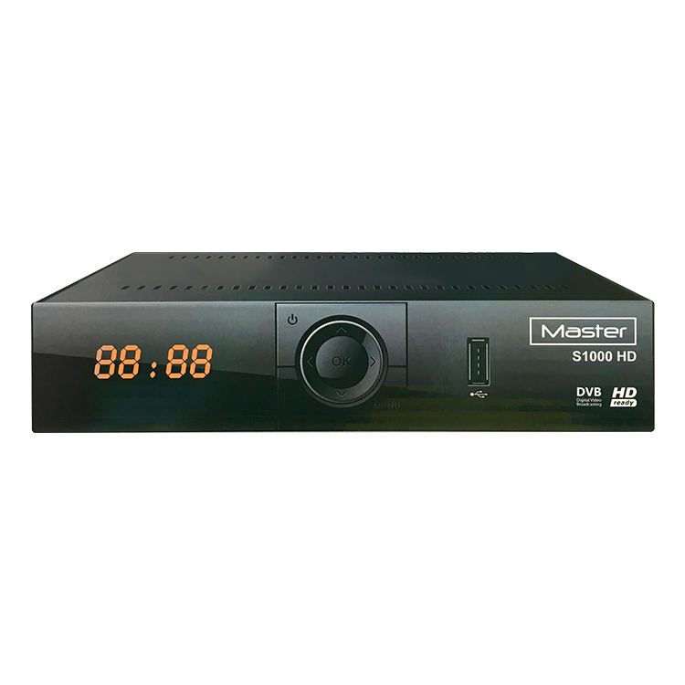 Tv Decoder DVB-S2 Master S1000 Hd Iptv Iks 1080P Full Hd Digitale Satellietontvanger