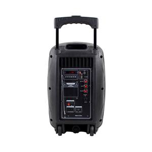 A8-8 6 tasten LCD display 8 zoll woofer oem tragbare 7,4 V 2200mAh Lithium-ion Batterie parlante karaoke lautsprecher trolley