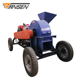 Small Diesel Engine Wood Crusher Olive Wood Crusher