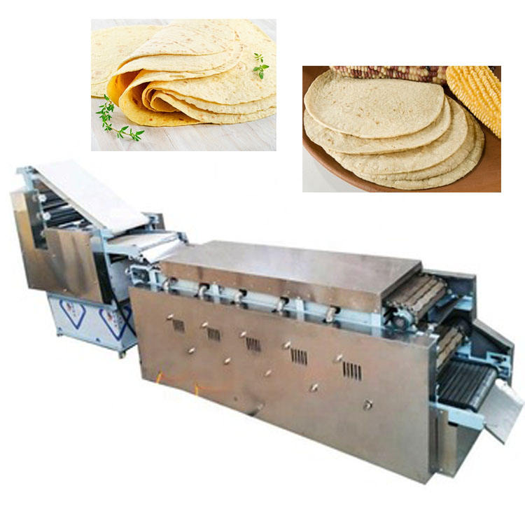 Full Automatic High Capacity Tortilla Roti Chapati Bread Making Machine For Sale