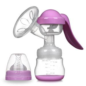 Cheap Price Baby Breastfeeding Pump Single Manual Breast Milk Pump for Exclusively Expressing
