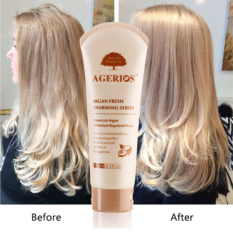 Mixed Element Vitamin E Nutrients Give hair toughness and luster Hair Restore Magic Argan oil Hair Mask