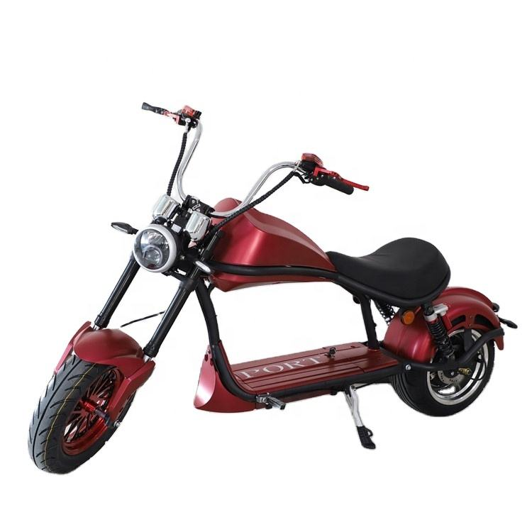 Smarda factory offer 1000w 1500w citycoco scooter two wheel electric motorcycle E-mark certificated