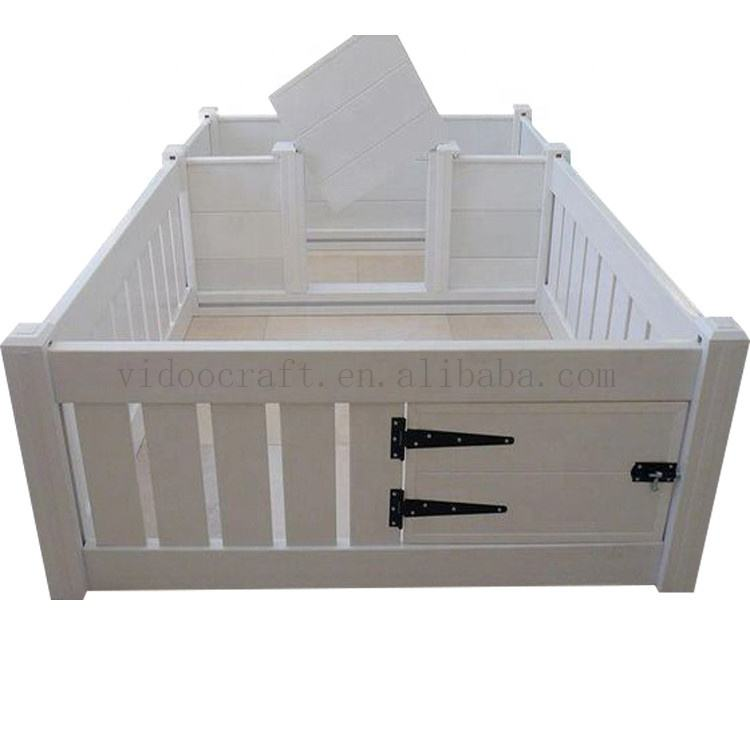 Wooden welping box / indoor pet house for pregnant dog / cage for puppies