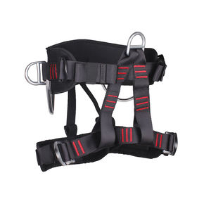 High altitude double hanging point type half body safety harness belt