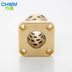 Thin Cnc Bearing Brass Linear Parts Compact