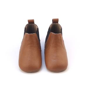 Unisex Kids Genuine Leather Shoes Toddler Snow Kids Boots