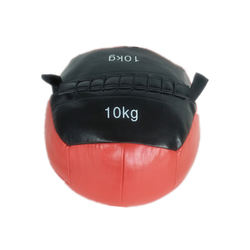 PU Leather Gym Soft heavy Medicine Ball With Customized logo